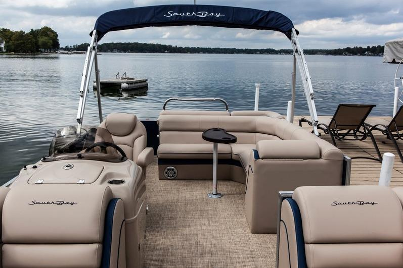 2017 South Bay 527 CR in Center Ossipee, New Hampshire