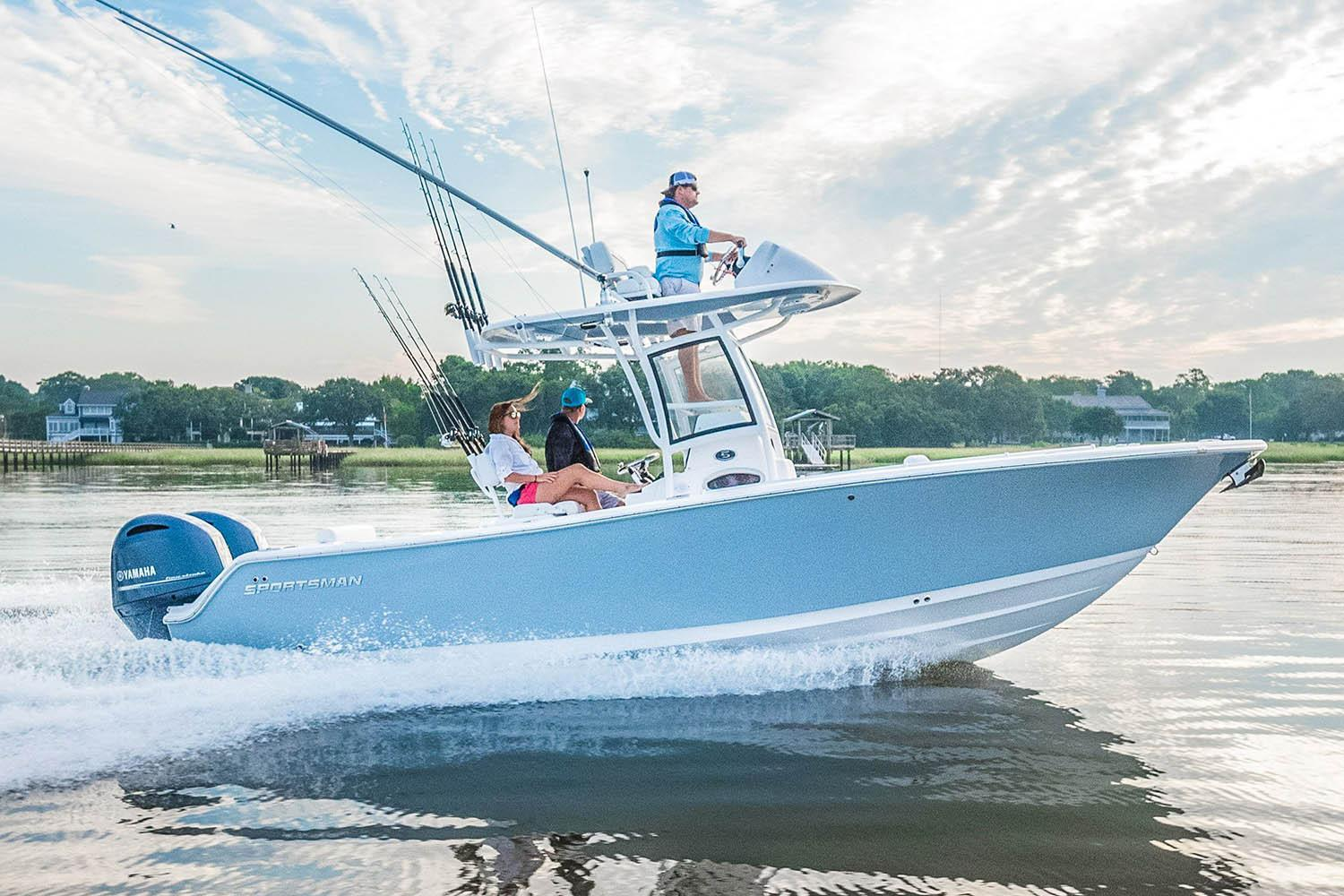 New 2018 Sportsman Open 252 Center Console Power Boats Outboard in