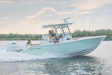 2019 Sportsman Open 282 Center Console in Lake City, Florida