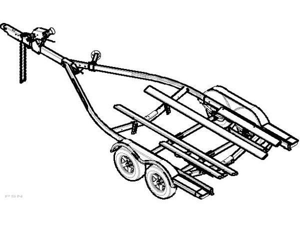 galvanized boat trailer parts