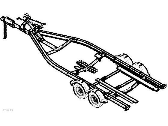 New 2006 Shorelandr Slrb60tal Roller Bunk Trailers In Darien Wi