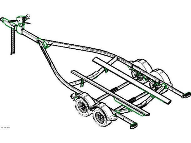 bunk boat trailer diagram
