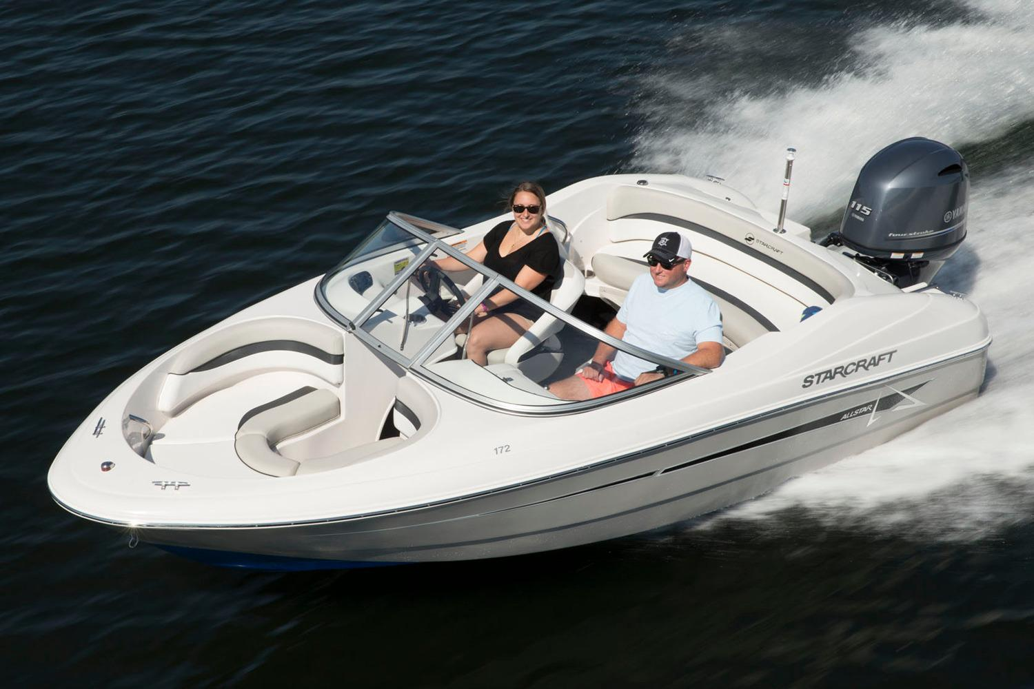 2017 Starcraft Sport Runabout 172 OB Sport in Holiday, Florida