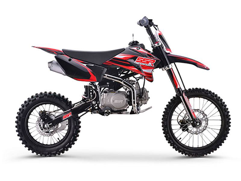 2018 SSR Motorsports SR125TR - BW in Little Rock, Arkansas
