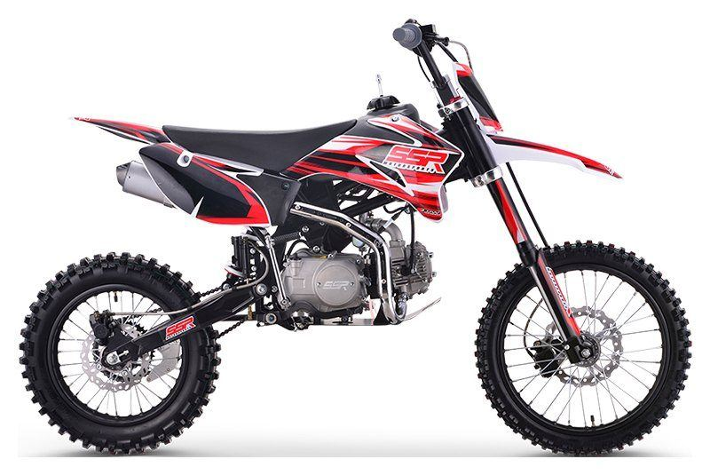 2019 SSR Motorsports SR125TR - BW in Little Rock, Arkansas