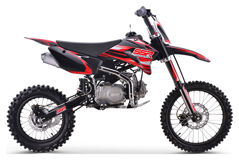 2021 SSR Motorsports SR125TR - BW in Little Rock, Arkansas - Photo 1