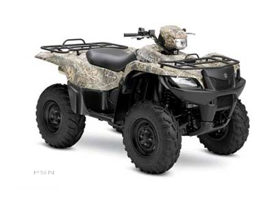 2006 Suzuki KingQuad® 700 4x4 Camo in South Haven, Michigan