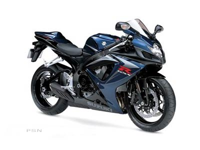 2007 Suzuki GSX-R750™ in Kingsport, Tennessee