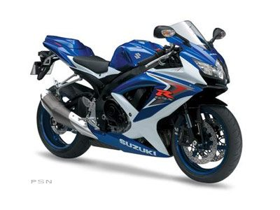 2008 Suzuki GSX-R750™ in Norfolk, Virginia