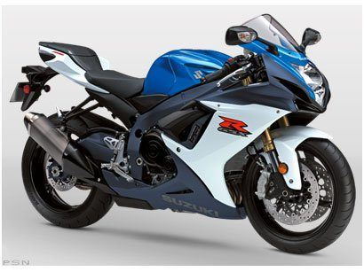 2011 Suzuki GSX-R750™ in Highland Springs, Virginia