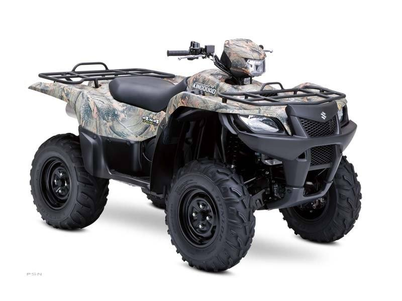 2012 Suzuki KingQuad® 750AXi Camo in Tarentum, Pennsylvania - Photo 10