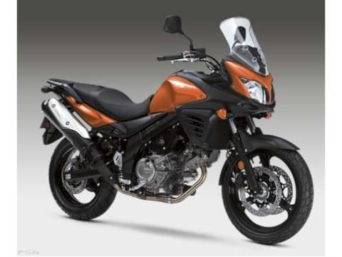 2012 Suzuki V-Strom 650 ABS in Barrington, New Hampshire
