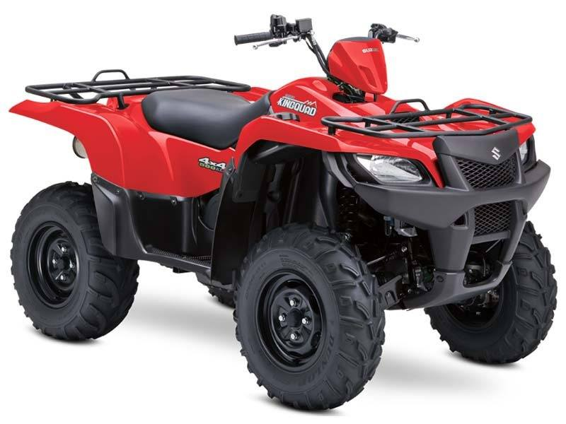 2013 Suzuki KingQuad® 500AXi Power Steering in Davenport, Iowa - Photo 4