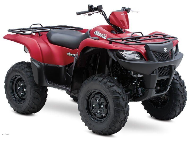 2013 Suzuki KingQuad® 500AXi Power Steering 30th Anniversary Edition in Hancock, Michigan
