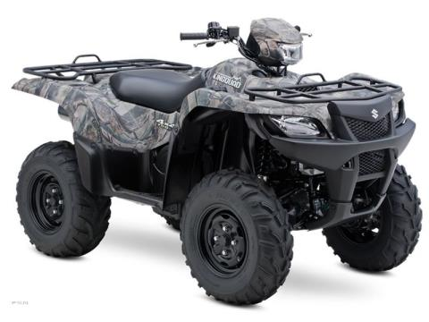 2013 Suzuki KingQuad® 750AXi Camo Power Steering in Scottsbluff, Nebraska