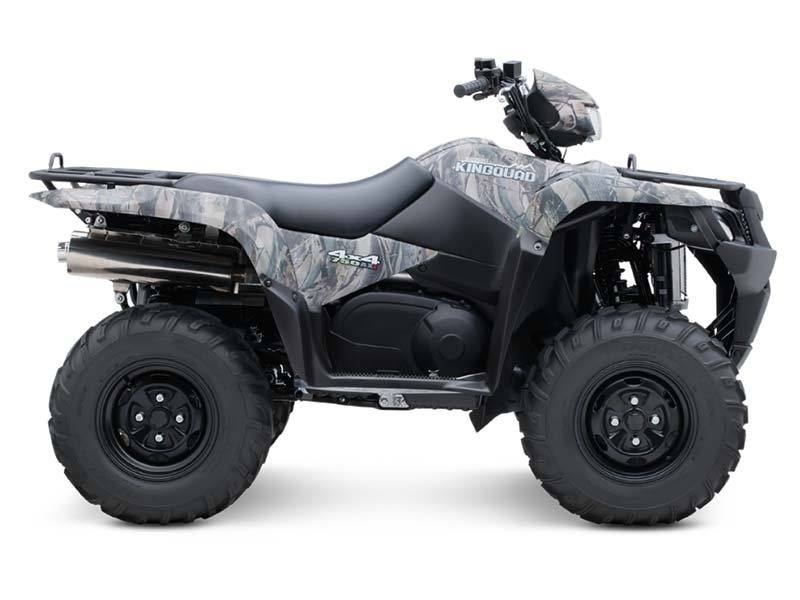 2014 Suzuki KingQuad® 750AXi Camo in Little Rock, Arkansas