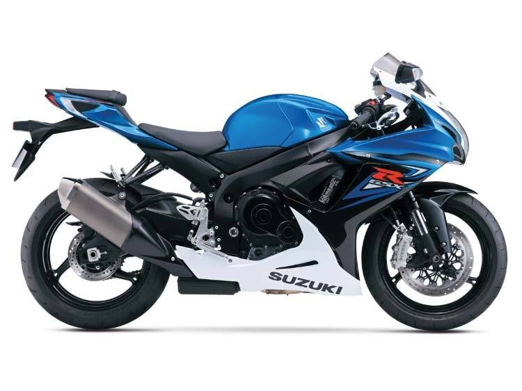 2014 Suzuki GSX-R600™ in Phillipston, Massachusetts
