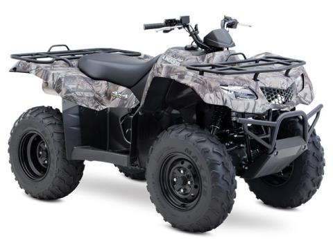 2015 Suzuki KingQuad 400ASi Camo in Romney, West Virginia