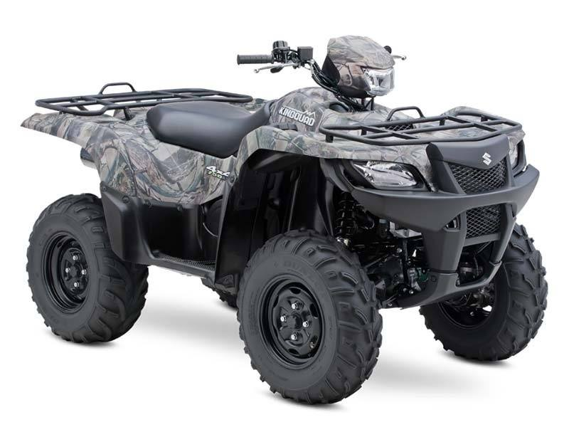 2015 Suzuki KingQuad 750AXi Camo in Twin Falls, Idaho