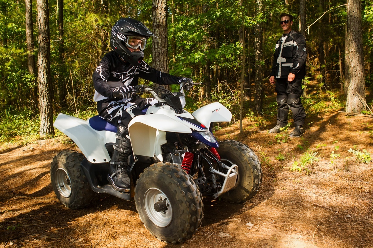2016 Suzuki QuadSport Z90 in Olive Branch, Mississippi