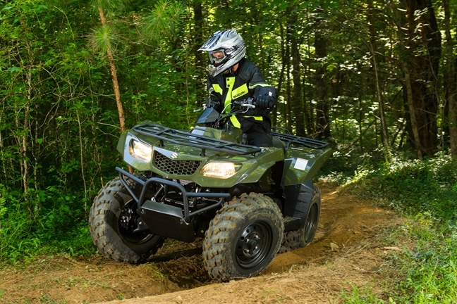 2016 Suzuki KingQuad 400ASi in Twin Falls, Idaho - Photo 2