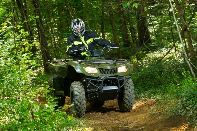 2016 Suzuki KingQuad 400ASi in Warren, Michigan