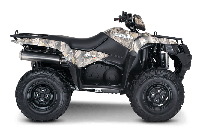 2016 Suzuki KingQuad 500AXi Camo in Scottsbluff, Nebraska