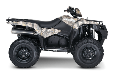 2016 Suzuki KingQuad 500AXi Camo in Mechanicsburg, Pennsylvania