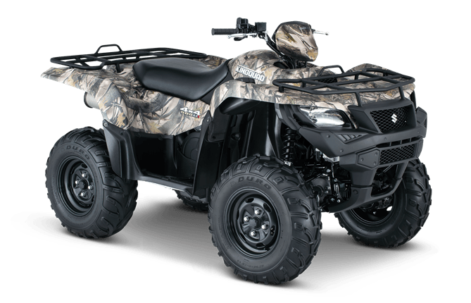 2016 Suzuki KingQuad 500AXi Camo in Florence, South Carolina