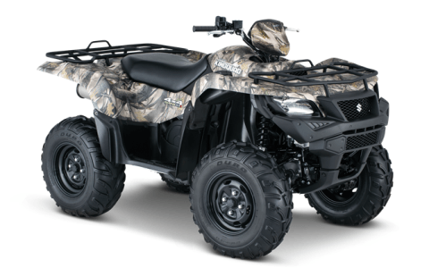 2016 Suzuki KingQuad 500AXi Camo in Baldwin, Michigan