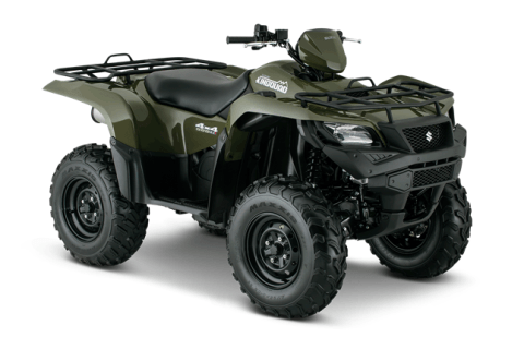 2016 Suzuki KingQuad 500AXi Power Steering in Lumberton, North Carolina