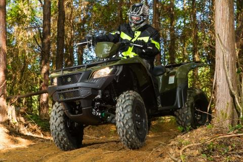 2016 Suzuki KingQuad 500AXi Power Steering in New Castle, Pennsylvania