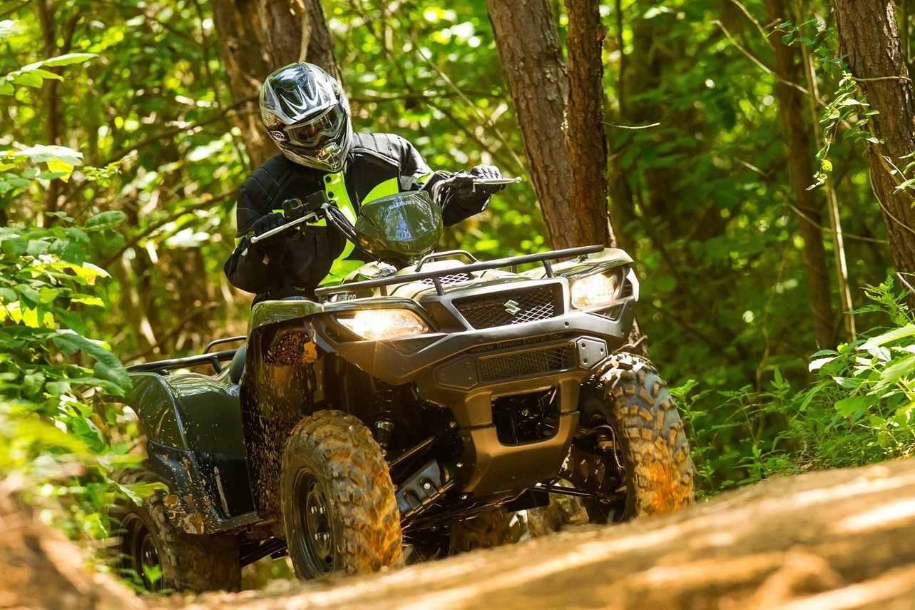 2016 Suzuki KingQuad 500AXi Power Steering in Palmerton, Pennsylvania