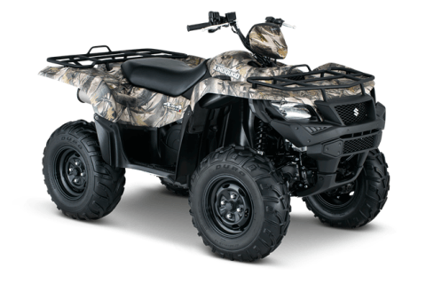 2016 Suzuki KingQuad 500AXi Power Steering Camo in Winterset, Iowa