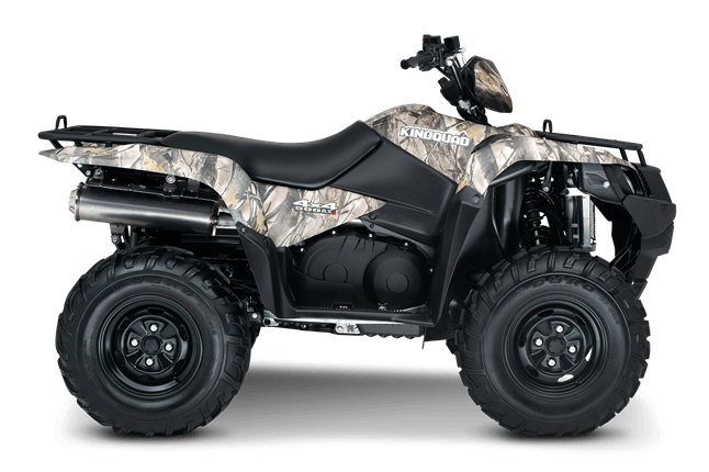 2016 Suzuki KingQuad 500AXi Power Steering Camo in Warren, Michigan