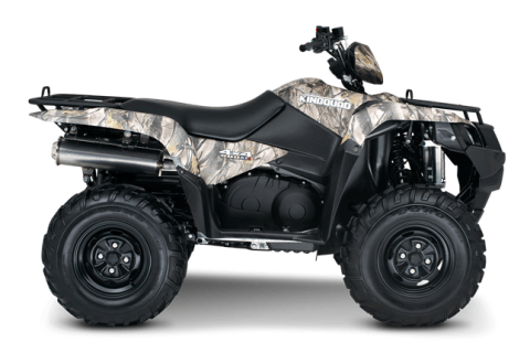 2016 Suzuki KingQuad 500AXi Power Steering Camo in Coloma, Michigan