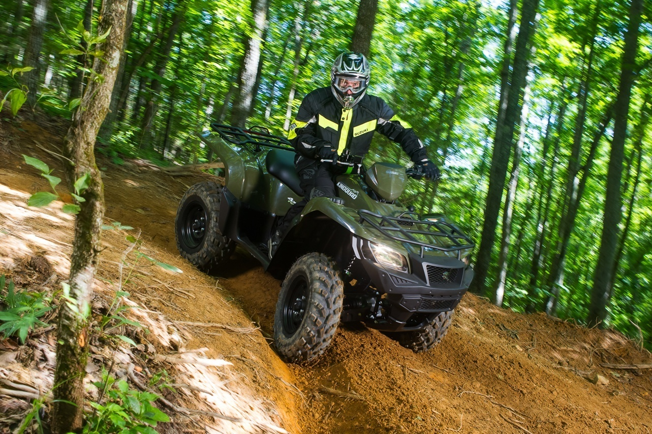 2016 Suzuki KingQuad 750AXi in Dearborn Heights, Michigan