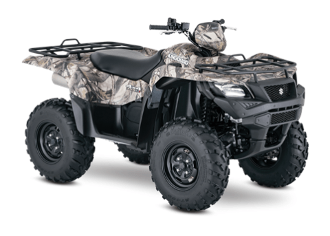 2016 Suzuki KingQuad 750AXi Camo in Junction City, Kansas