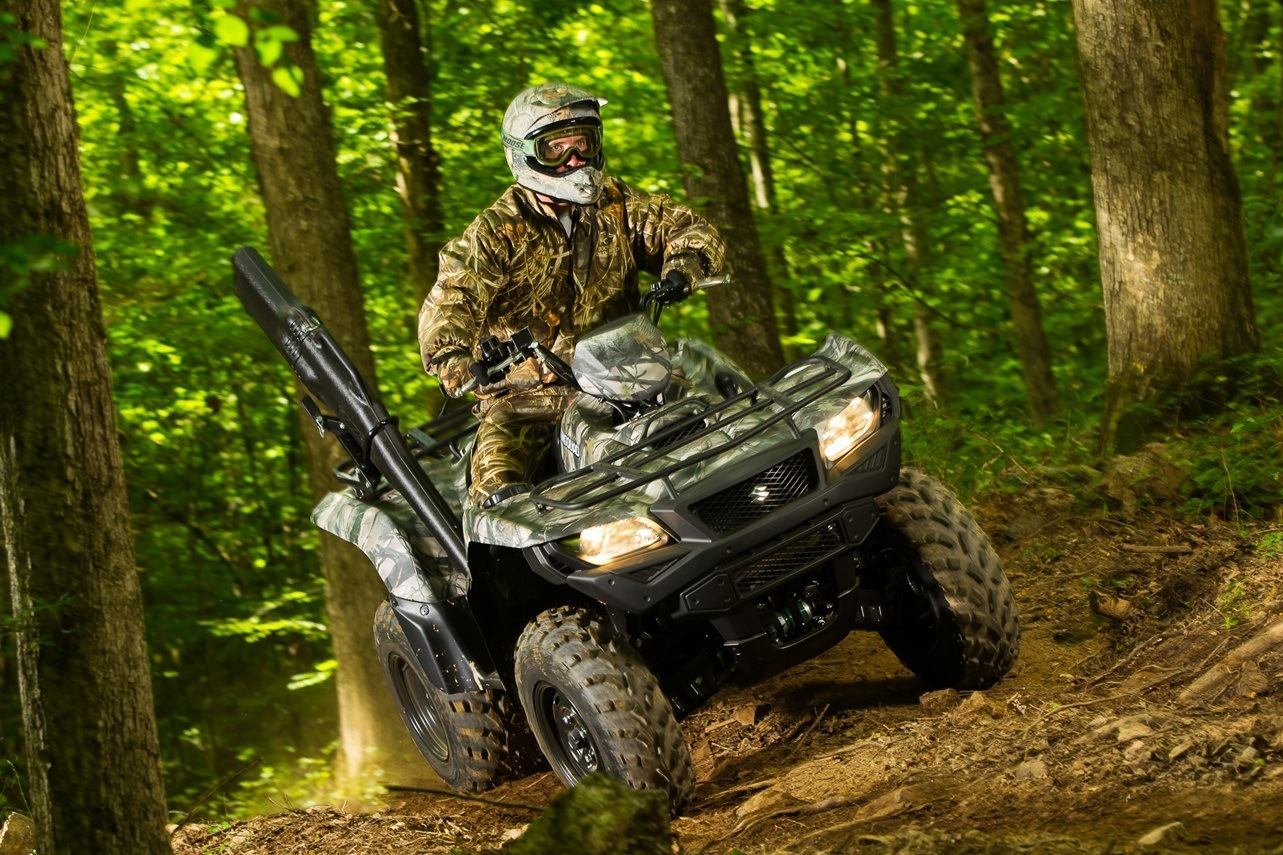 2016 Suzuki KingQuad 750AXi Camo in Albemarle, North Carolina