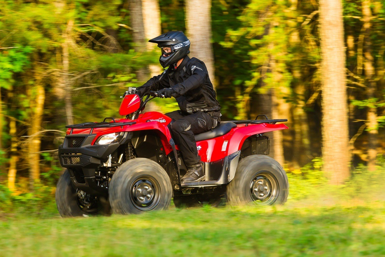 2016 Suzuki KingQuad 750AXi Power Steering in Winterset, Iowa