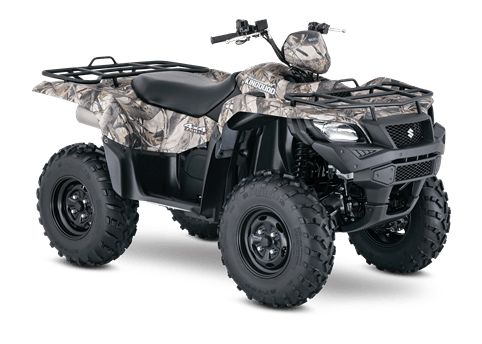 2016 Suzuki KingQuad 750AXi Power Steering Camo in Coloma, Michigan