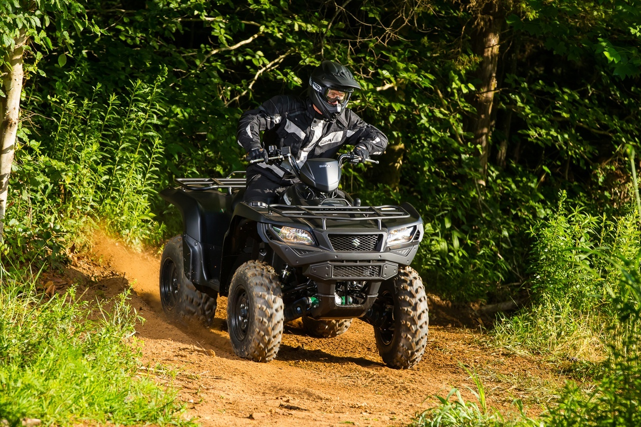 2016 Suzuki KingQuad 750AXi Power Steering Limited Edition in Bristol, Virginia
