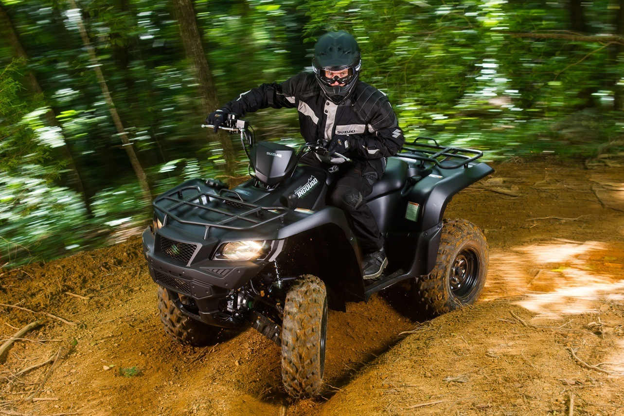 2016 Suzuki KingQuad 750AXi Power Steering Limited Edition in Coloma, Michigan
