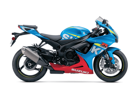 2016 Suzuki GSX-R600 in Florence, South Carolina