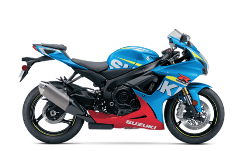 2016 Suzuki GSX-R750 in Simi Valley, California