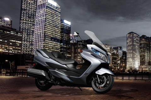 2016 Suzuki Burgman 400 ABS in Bristol, Virginia
