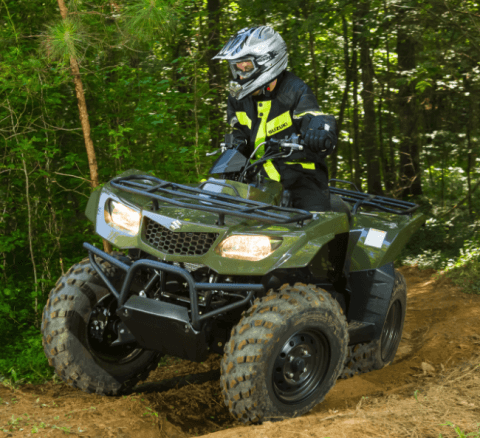 2017 Suzuki KingQuad 400ASi in Francis Creek, Wisconsin