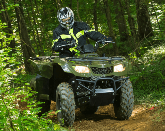 2017 Suzuki KingQuad 400ASi in Falmouth, Maine