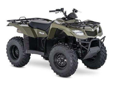 2017 Suzuki KingQuad 400ASi in Gaylord, Michigan