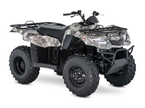 2017 Suzuki KingQuad 400ASi Camo in Francis Creek, Wisconsin